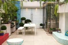 Brendan Moars own garden